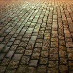 paving stones in lanscaping